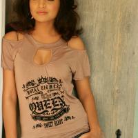 Kaatyayani Sharma hot cleavage show