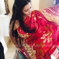 Trupti Rajput gorgeous looks saree shoot