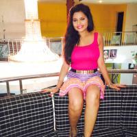 Trupti Rajput sexy thighs show